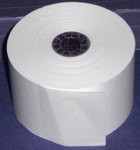 "Picture of item 450-207 a Point of Sale Roll Paper.  Bond Paper for Ribbon Printers.  1.73"" x 147 Feet."
