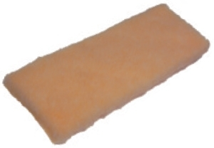 "Picture of item 595-305 a Applicator Pad.  14"" x 5.5"" x 3/4"" Thick.  Synthetic Refill.  Recommended for water based finishes."