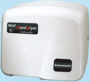 SKY1800PA AUTOMATIC HAND DRYER.