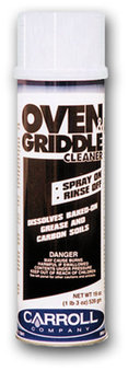 Picture of item 615-402 a Oven & Griddle Cleaner.  For heavy duty cleaning.  19 oz. Aerosol.