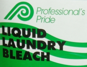 Picture of item 620-503 a LIQUID LAUNDRY BLEACH 5 GAL. BLEACH CONCENTRATE FOR USE IN COMMERCIAL LAUNDRIES.