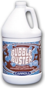 Picture of item 650-301 a Bubble Buster.  Defoamer.  For use in wet-dry vacs and steam carpet cleaning machines.  1 Gallon.