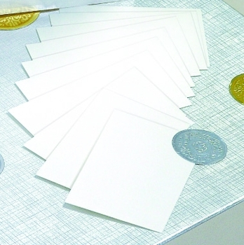 "Picture of item 737-398 a White Gift Enclosure Card.  3.5"" x 2.25""."
