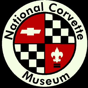 Picture of item 972-873 a Logo Mat.  3 Feet x 5 Feet.  National Corvette Museum Logo.