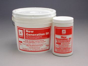 Picture of item 681-103 a New Generation 50® Kit Bright Grey.  (3/4 gal.) 250 sq. ft. coverage. Part A pH: 9.0. Part B pH: 8.8  .