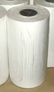 "Picture of item 347-202 a Butcher Paper Rolls.  40 lb.  White.  18"" x 1,000 Feet.  Shrink Wrapped."
