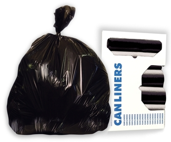"Picture of item 976-569 a Can Liner.  30"" x 36"".  20 - 30 Gallon.  Heavy Grade.  Black.  Coreless Roll."