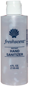 Picture of item 670-823 a Freshscent™ Instant Hand Sanitizer.  4 fl. oz.