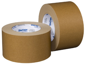 "Picture of item 424-500 a Paper Flatback Packaging Grade Tape.  2"" x 60 Yards (48 mm x 55 meters).  6.1 Mil.  Kraft Paper."
