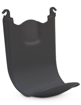 TFX™ SHIELD™ Floor and Wall Protector for TFX™ Dispensers. 6.31 X 4.56 X 3.88 in. Black.