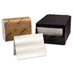 "Picture of item 226-914 a EasyNap® Embossed Dispenser Napkins.  6.5"" x 9.85"".  White Color.  250 Napkins/Sleeve."