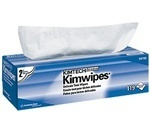 "Picture of item 351-098 a KIMTECH SCIENCE* KIMWIPES* Delicate Task Wipers.  Pop-Up Box.  11.8"" x 11.8"" Wiper.  White Color.  119 Wipers/Pop-Up Box."