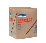 "WYPALL* L20 Wipers.  1/4 Fold.  12.5"" x 13"" Wiper.  Brown Color.  68 Wipers/Package, 816 Wipers/Case."