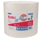 "WYPALL* L40 Recycled Wipers.  9.1"" x 12.5"".  White Color.  Jumbo Roll."
