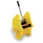 Downpress Wringer.  Holds 16-32 oz. Mops.  Blue Color.