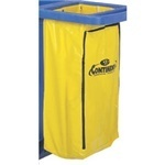 Picture of item 563-106 a Vinyl Bag Replacement for 182, 184, and 186 Janitor Carts.  25 Gallon.  Yellow Color.