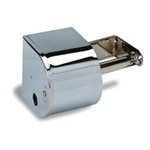 "Duet Dispenser.  6"" x 10"" x 5-11/16"".  Chrome Color.  Holds two, 1500 sheet rolls."