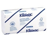 KLEENEX® SCOTTFOLD* Towels. 9.1 X 12.4 in. White. 3000 count.