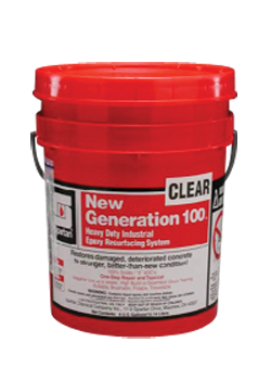 Picture of item 681-117 a New Generation 100® Clear Concrete Seal.  4 Gallon Pail.