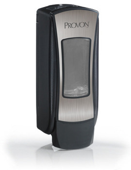 Picture of item 672-222 a PROVON® ADX-12™ Push-Style Dispenser for PROVON® Foam Soap. 1250 mL. 3.97 X 11.86 X 4.64 in. Chrome.