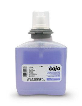 Picture of item 968-917 a GOJO® Premium Foam Handwash with Skin Conditioners.  FOMA 1200 mL Refill.