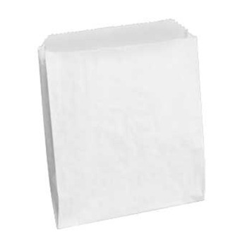 "Picture of item 705-105 a Merchandise Bag.  10"" x 2"" x 15"".  30 lb. Kraft Paper.  White Color."