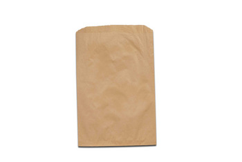 "Picture of item 705-109 a Merchandise Bag.  6-1/4"" x 9-1/4"".  30 lb. Kraft Paper.  Brown Color."