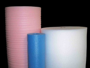 "Picture of item 967-363 a Cushion Pak™ Foam Wrap.  18"" x 2,000 Feet.  1/32"" Thick.  White Color."
