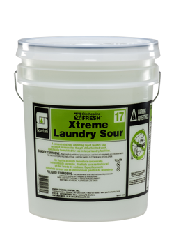 Picture of item 620-643 a Clothesline Fresh™ #17 Xtreme Laundry Sour.  5 Gallon Pail.