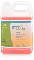 Picture of item 601-202 a Green Works® Bathroom Cleaner Concentrate.  1 Gallon.
