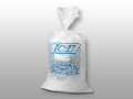 "Picture of item 311-405 a Ice Bag.  13.5"" x 28"".  1.75 Mil.  20 lb.  Stock Print."
