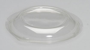 "Dome Lid For 24/32 oz bowl (CW024/CW032). 1.19"" High. 200/cs."