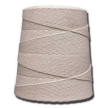 Picture of item 430-211 a T.W. Evans Cordage Co. 8 ply Twine Cotton Cone. 2.5lb.