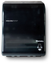 Picture of item 888-516 a Wave'n Dry® Electronic Dispenser. 12 X 15 7/8 X 10 3/8 in. Translucent Black.