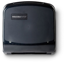 Picture of item 975-884 a Silhouette® Compact Folded Towel Dispenser. 12 3/8 X 13 X 4 7/8 in. Translucent Black.