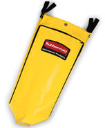 "Picture of item 968-560 a Rubbermaid High Capacity Vinyl Replacement Bag. Yellow. 33"" L x 10.5"" W x 17.5"" H."