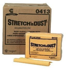 "Picture of item 823-205 a Chicopee Stretch 'n Dust® Cloths. 12.6"" x 17."" Yellow/Orange Color."