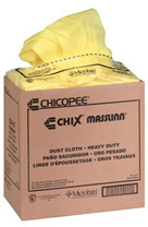 "Picture of item 823-208 a Chicopee Masslinn Dust Cloths. Mineral Oil Treated. 24"" x 16."" Yellow. Unscented."