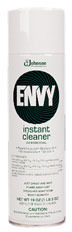 Picture of item 970-496 a Diversey™ Envy® Foaming Disinfectant Cleaner, Lemon Scent, 19 oz. Aerosol Can, 12/Carton