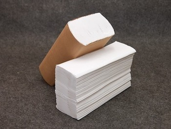 Picture of item 872-903 a Retain™ Multi-Fold Towels. 9.25 X 9.4 in. White. 4000 towels.