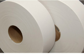 "Picture of item 887-908 a Response Jumbo SR. Toilet Tissue. 2 ply. 3.5"" x 2000'. Premium embossed. 6 rolls/cs."