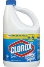 Picture of item 620-301 a Clorox Germicidal Bleach. Concentrated Formula - 8.25%. FDA Approved. 121 oz Container.