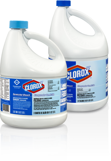 Picture of item 620-303 a Clorox® Germicidal Bleach.  64 oz container.  8 Bottles/Case.