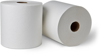 "Picture of item 871-402 a DublSoft® Controlled-Use Roll Towel.  8"" x 630 Feet.  White Color."