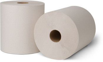 Picture of item 871-403 a Tork® Controlled Roll Towels. 8 in X 800 ft. Natural White. 6 rolls.
