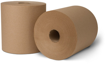 Tork® Controlled (Proprietary/Strategic)   Roll Towels. 8 in X 800 ft. Natural. 6 rolls.