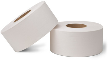 "Picture of item 887-609 a EcoSoft™ Universal-Use Jumbo Bath Tissue.  3-7/8"" x 2,000 Feet.  1-Ply.  White Color."