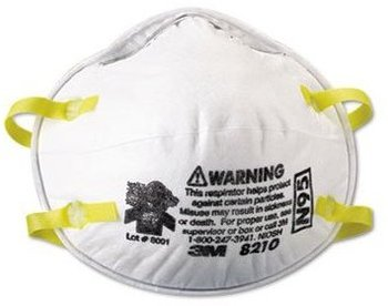 Picture of item 595-199 a 3M™ Particulate Respirator 8210, N95