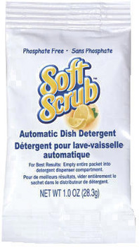 Picture of item 670-805 a Soft Scrub® Automatic Dish Detergent - Single Use Packaging.  1 oz. Packet.