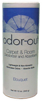 Picture of item 966-072 a Fresh Products Odor-Out Carpet and Room Deodorant.  12 oz. Shaker Can.